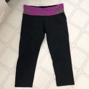 Lululemon crops yoga pants